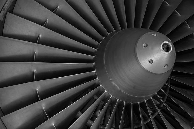 kovová turbína