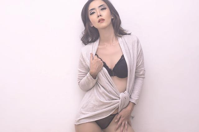 asijská modelka