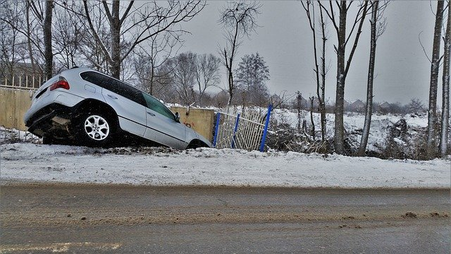 SUV nehoda